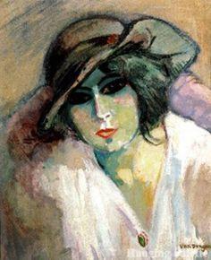 Van Dongen - Woman in Green, 1923