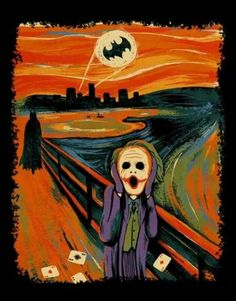I have a Batman Starry Night, I'd love this one to go with it