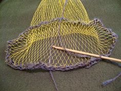 DIY crochet your own reusable mesh produce bag from an onion bag