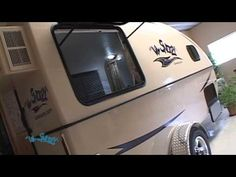 Lil Snoozy Campers - YouTube.  Great execution of some interesting principles.  Since the wheels are outside the camper body and there's no wooden framing, this could be built into a kickass offroad camper.