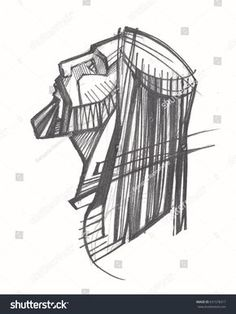 Find Hand Drawn Illustration Drawing Jesus Christ stock images in HD and millions of other royalty-free stock photos, illustrations and vectors in the Shutterstock collection. Catholic Art, Religious Art, Croix Christ, Jesus Sketch, Catholic Wallpaper, Jesus Drawings, Jesus Is Life, Jesus Art, Jesus Pictures