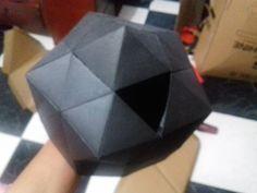 Iglu de carton / modelo a escala de igloo de cartón 3