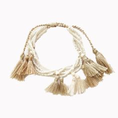 Charming layered beaded tassel bracelet, modern and casual chic with a bohemian vibe. Stack it with other statement bracelet for a complete boho style Tassel Bracelet, Beaded Bracelets, Casual Chic, Bridal Jewelry, Jewelry Collection, Boho Fashion, Tassels, Women Accessories, Bohemian