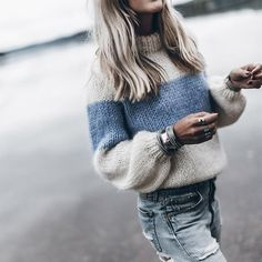 Høj hals Color Block Patchwork Trøjer High Neck Color Block Patchwork Sweaters The post High Neck Color Block Patchwork Sweaters appeared first on Fall Fashion. Winter Fashion Casual, Fall Winter Outfits, Autumn Winter Fashion, Winter Style, Mode Outfits, Fashion Outfits, Fashion Trends, Girl Fashion, Sweater Outfits