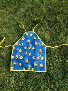 Kochutensilien - Zuckersüße Kinderschürze, gelb/blau, MINIONS :o) - ein Designerstück von Alani11 bei DaWanda