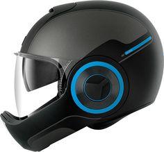 Admirez les lignes du casque intégral urbain Shark Vantime /// Look at this futuristic motorbike helmet by Shark !