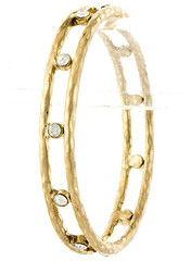 Gold Studded Bangle