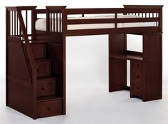 Loft bed - this is superrr cute for a little boy or something!!