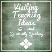 Visiting teaching ideas and printables