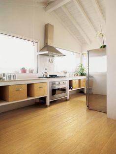 Trendy Bamboo Flooring HGTV
