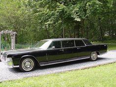 1965 Lincoln Continental limousine