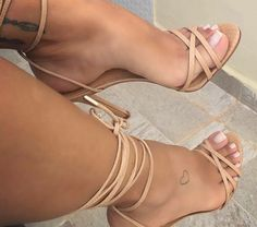 "footmanx: ""veteranstar: ""Sexy Feet & High Heel Stiletto Multi Strap Sandals "" Wow they are perfect! Hot Heels, Sexy Legs And Heels, Sexy High Heels, High Heel Boots, Heeled Boots, Shoe Boots, Cute Sandals, Cute Shoes, Beautiful High Heels"