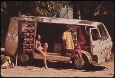 DOCUMERICA: Campers at Garner State Park, 07/1972 by  St. Gil, Marc, 1924-1992