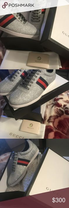 Brand New Gucci Sneakers Brand New Gucci Sneakers  Never worn  Size 9 Gucci Shoes Sneakers