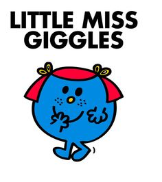 Little miss giggle went out for a walk and lost her giggle! Oh nooooo! This happens to me all the time.