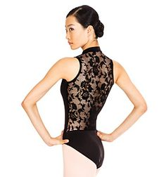 My gift to myself when I reach my goal weight. Lace Back Tank Leotard - Style No N8699