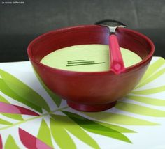 » Crème de laitue ou la soupe du soir en 5 minutes chrono ! - La cuisine de Mercotte :: Macarons, Verrines, … et chocolat