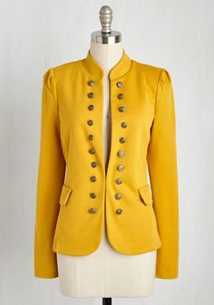 154cdd08d232 I Glam Hardly Believe It Jacket in Goldenrod - Exclusives