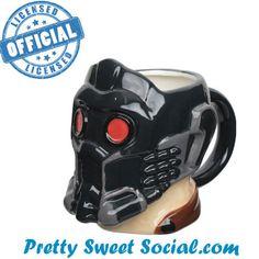 Random Sweet Stuff - Guardians Of The Galaxy Skulpted Star Lord Head Mug