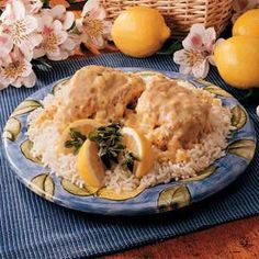 Pheasant in Mustard Sauce Recipe | Taste of Home Recipes I made this tonight with the pheasant my hubbie shot. Very good, would be great with chicken too. I used thyme as I had no marjoram, I left out the onion as I was out and I substituted corn oil for canola oil. Very good sauce, even though sauce was thin.