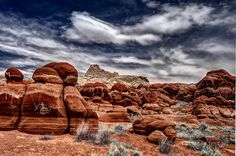 Red rocks in Blue Canyon on the Hopi Reservation in northeastern Arizona inscribed with what looks like graffiti, but is actually part of the rock matrix. Hopi Indians, Earth Photos, The Rock, Geology, Wilderness, Monument Valley, The Good Place, Arizona, Native Americans