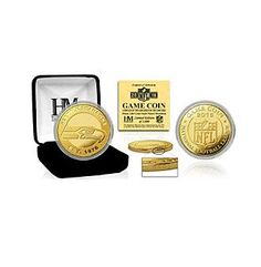 "NFL® Seattle Seahawks 2016 Gold Game ""Flip"" Coin by The Highland Mint"