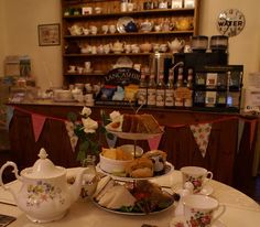 Afternoon Tea at Coppers Tea Room Lanchashire.
