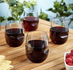 Roadies Stemless Travel Wine Glasses, $13.95