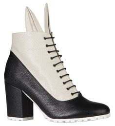 BUNNY VIC BLACK-CREAM | MINNA PARIKKA Online Shop - May these shoes lead you to new adventures