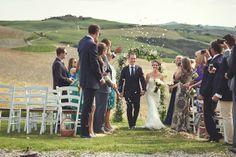 #Ceremony #RusticWedding in #Tuscany - Italian Wedding Photographer Jules