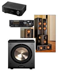 Klipsch RF-42II Theater System-PL-200 Sub-Harman BDS 5 5.1 AV Rec and Blu Ray by Klipsch. $1699.00. Now in its fifth generation, Reference II speakers have even more content and superior sound quality for you to enjoy. You'll find re-engineered drivers throughout combined with a new crossover system that will capture your complete attention and excite your emotions. Improved cosmetics, including black metallic finished baffles, cerametallic woofers, new logos and fe...