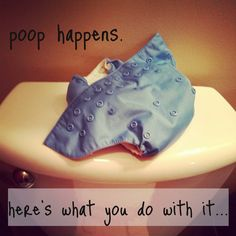 Cloth Diapers and poop.