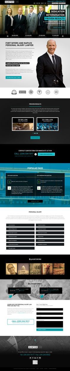 Lawyer web design, attorney websites | PaperStreet