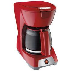 PS 12Cup Coffeemaker Red