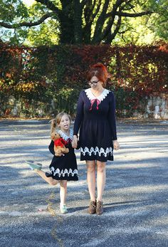 Mother/Daughter style from Miss Patina!