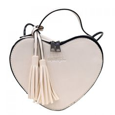 Fashion Heart Pattern  and Tassels Design  Women's Crossbody Bag #jewelry, #women, #men, #hats, #watches, #belts, #fashion