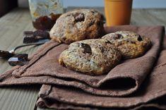 Cookies aux pépites de chocolat noir fourrés à la confiture d'orange