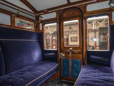First Class train carriage interior
