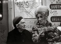 Helen Levitt, who apprenticed with Walker Evans in the subways, learned a thing or two about clandestine portraits.