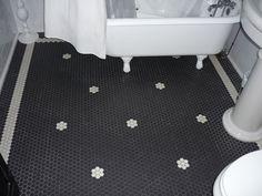 bathroom bathroom black mosaic tile hexagonal white and black mosaic tile bathroom floor
