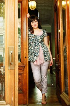 Plus Size casual blouse Diy Clothing, Sewing Clothes, Clothing Patterns, Dress Patterns, Plus Size Sewing Patterns, Evening Dresses Plus Size, Diy Couture, Inspiration Mode, Plus Size Casual