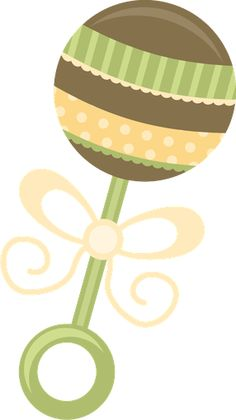 BABY RATTLE CLIP ART