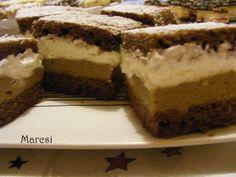 Kávés tejszínes kocka Cake Bars, Tiramisu, Ethnic Recipes, Food, Essen, Meals, Tiramisu Cake, Yemek, Eten