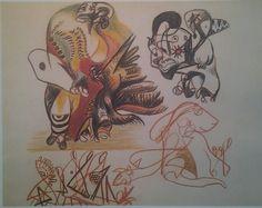 "PAD Plate 63 - 1939-40 - Colored pencil - 11-1/4"" X 14-1/4"" - Stephens, Inc., Little Rock, Arkansas."