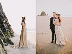 portland woodland elopement - Dylan and Sara Photography - http://ruffledblog.com/woodland-portland-elopement