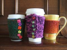 George Coffee Cup Cosies