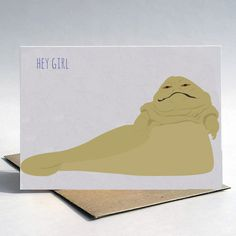 """Funny Valentine's Cards: The best use of a """"hey girl"""" meme we've seen. #StarWars"""