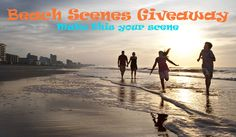 #vmb Beach Scenes Giveaway Pinterest Contest http://www.vacationmyrtlebeach.com/vacation/pin-to-win #vmb