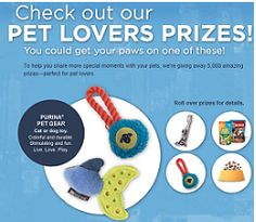 Nestle Purina PetLovers Instant Win Game