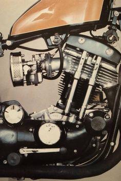 Harley-Davidson XLH 1000 Sportster Ironhead | single cylinder